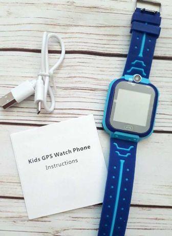 Детские смарт часы с gps камерой,водонепроницаемые smart watch Q12