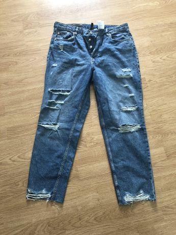 Новые с бирками джинсы H&M р.52-54