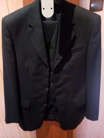 Granatowy garnitur classic - Bytom