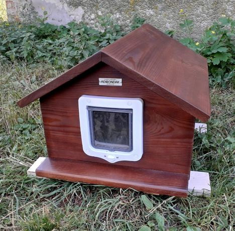 Будка для кота 40х50 з дверками