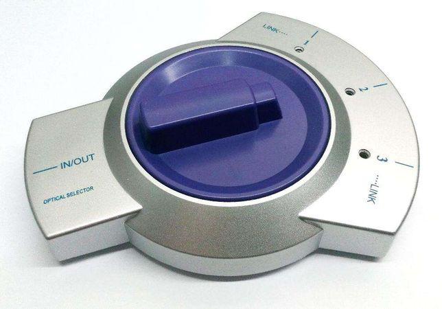 Switch de Audio Digital Óptico Toslink 3 entradas