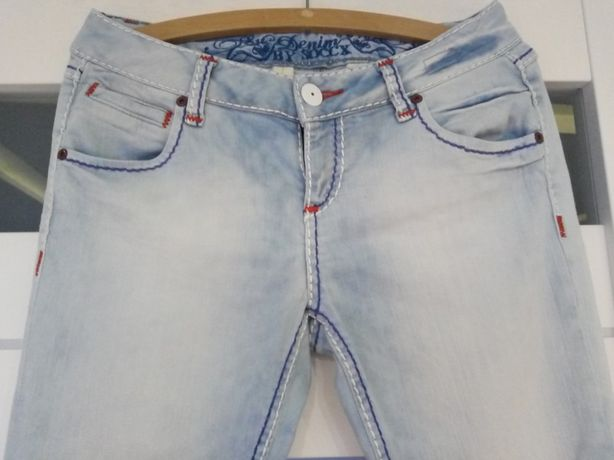 Świetne jeansy denim 40