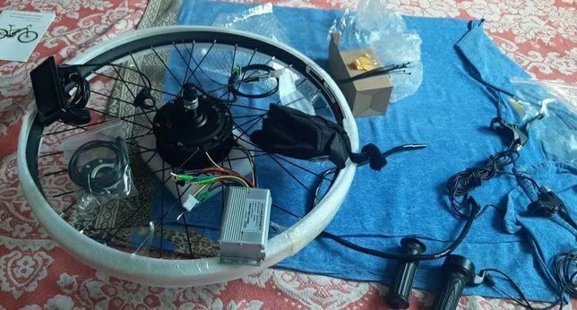 """Kit bicicleta eléctrica 36v-350w roda 28"""" 29"""" 700c"""