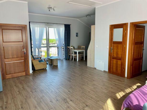 Apartament Władysławowo z widokiem na morze i Władysławowo.