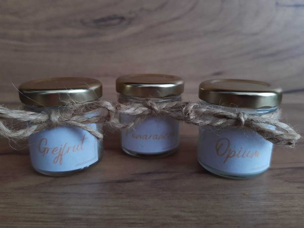 Ekologiczne świeczki sojowe - intensywny zapach