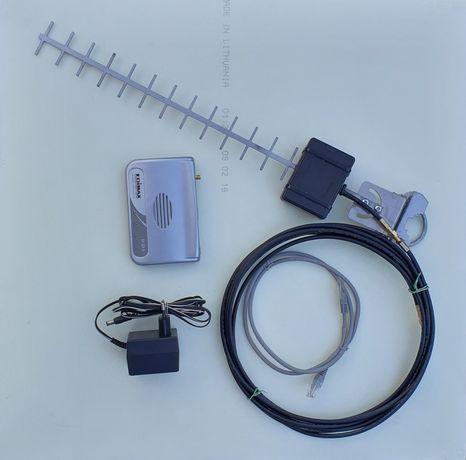 Antena kierunkowa yagi 16 dBi 2,4 GHz internet wifi + Access Point