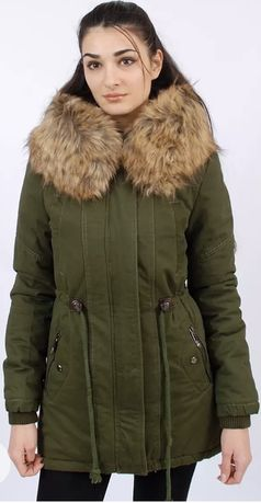 Зимняя парка, куртка - размер 46