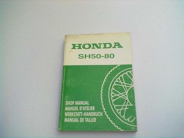 Manual Técnico Oficial Honda SH 50-80