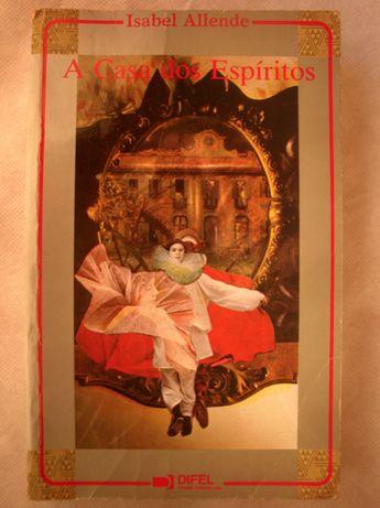 Livro Best Seller Romance Aventura Isabel Allende A Casa Dos Espíritos