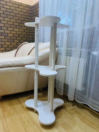 Стойка/подставка/этажерка натуральное дерево