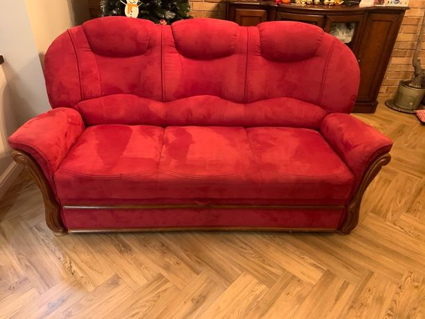 Sofa łóżko kanapa rozkładana z funkcja spania