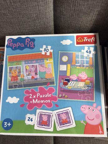 Nowe puzzle Świnka Peppa