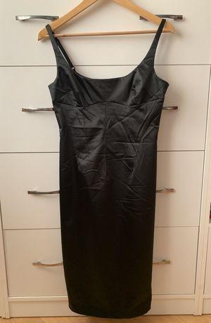 Черное платье-карандаш Dolce&Gabanna 44 D&G Оригинал