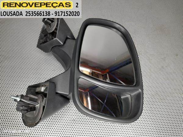 Espelho Retrovisor Dto Renault Trafic Ii Caixa (Fl)