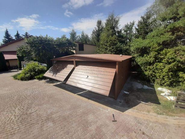 blaszak garaż na budowę schowek garaż blaszany konstrukcja stalowa 6x6
