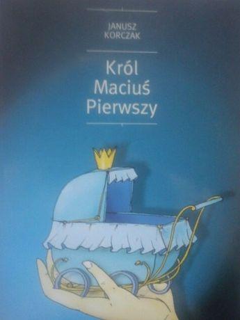 książka lektura Król Maciuś Pierwszy Janusz Korczak