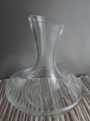 Dekanter karafka do wina nowa białe szkło