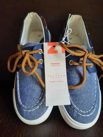 Sapatos de menino: lonas/sapatilhas/ténis, em azul, da Zippy: n.31
