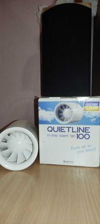 Канальный вентилятор Vents quietline 100W тихий б/у