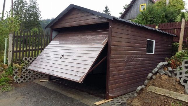 Gniezno Garaż blaszany 3x5 Złoty Dąb Blaszaki Garaże Producent Raty