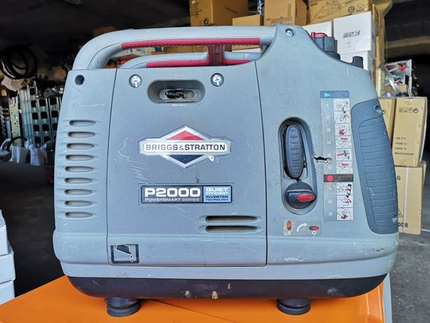 Gerador Inverter Gasolina Briggs and Stratton P2000 - Usado