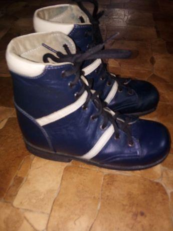 Ортопедические ботинки стелька 21см