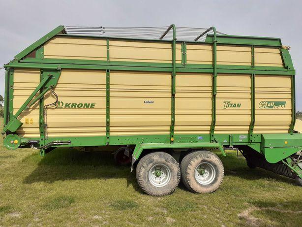 Przyczepa zbierająca Krone Titan GL 6/48 rok produkcji 2002 r.
