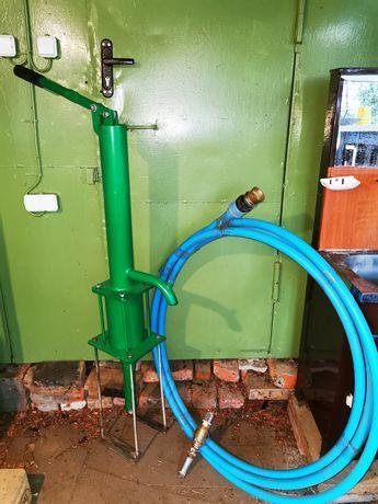 Насос поршневой 130 мм с тубой фильтрами и соединителями - для воды.