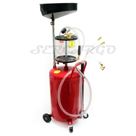Aspirador de Oleo pneumatico 80L +Bandeja+Sondas