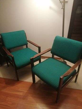 Fotele prl vintage