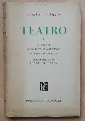 teatro, d. joão da camâra, jorge de faria, portugália editora