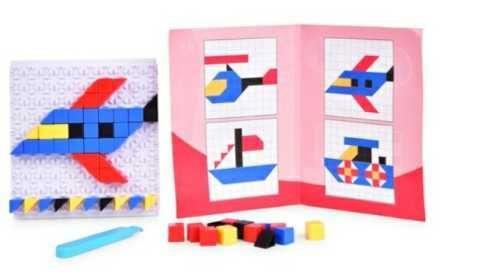 plastikowe puzzle mozaikowe