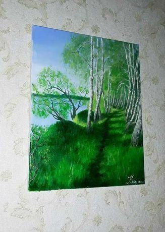Пейзаж олійними фарбами