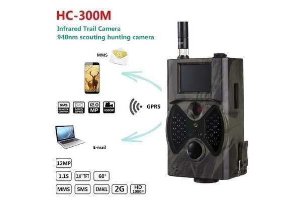 Fotopułapka,kamera lesna HC 300 M