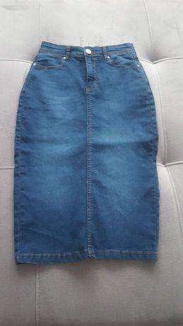 Spódnica jeans XS