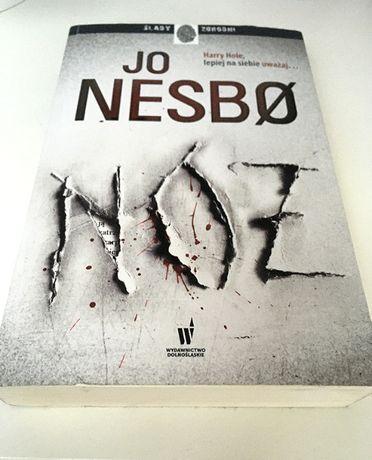 książka Nóż Jo Nesbo