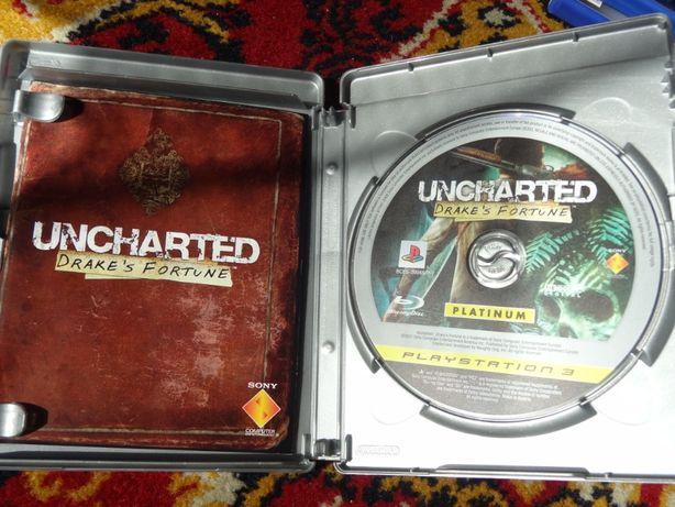 + Uncharted Drake's Fortune + gra na PS3 jak i inne