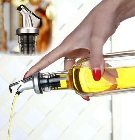 Пробка с дозатором для бутылок с жидкостью