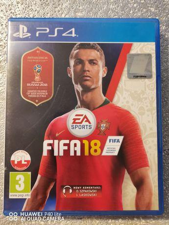 Ps4 FIFA 2018 pl (możliwa zamiana)