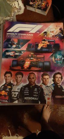 Álbum de cromos F1 2021