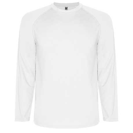 Koszulka MONTECARLO L/S biały
