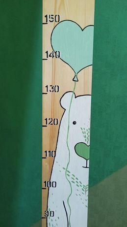 Ростомер деревянный животные монтессори декор детской