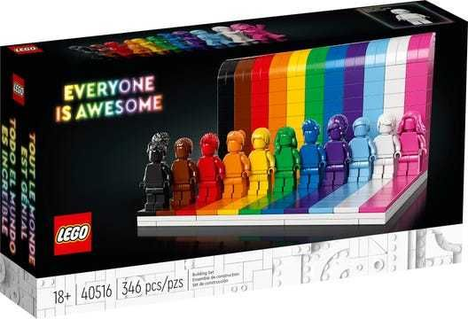 Lego Todos São Incríveis 40516  | NINJAGO 71700 | Paint Party Puzzle