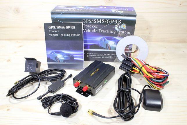 GPS103 Alarme localizador gps carro com corte de corrente por SMS