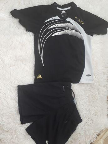 Летний спортивный костюм мальчику Adidas F50/p.-128см