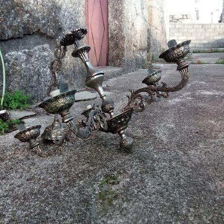 Candeeiro antigo em ferro