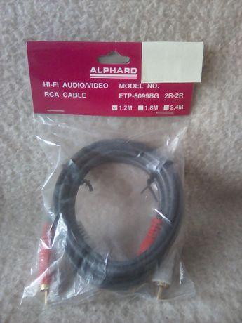 Kable audio Alphard 2RCA-2RCA, 3RCA-3RCA i euro Scart-3RCA