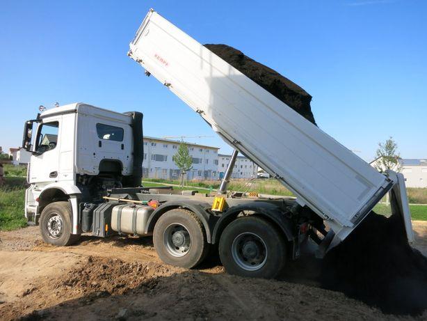 KO Ziemia ogrodowa + TRANSPORT GRATIS ORZESZE przesiewana 5 ton