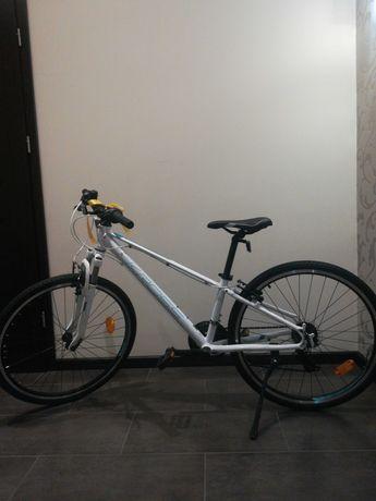 rower kross evado jr 1.0 biały