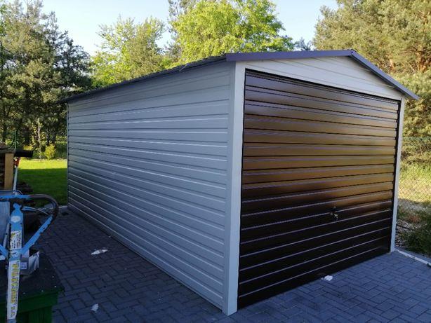 Garaże Blaszane BLASZAK producent garaży schowki na budowę garaż wiata